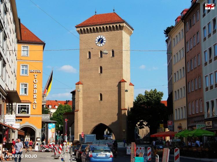 Isartor en Múnich