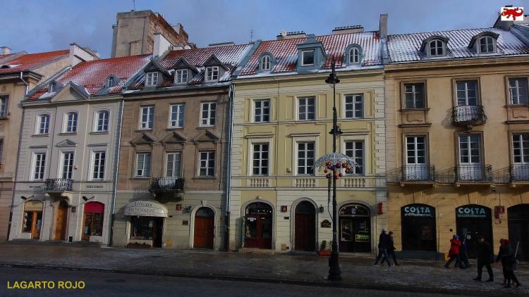 Casas antiguas de Varsovia