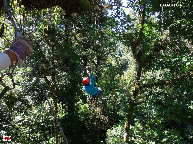 Tirolinas en Costa Rica