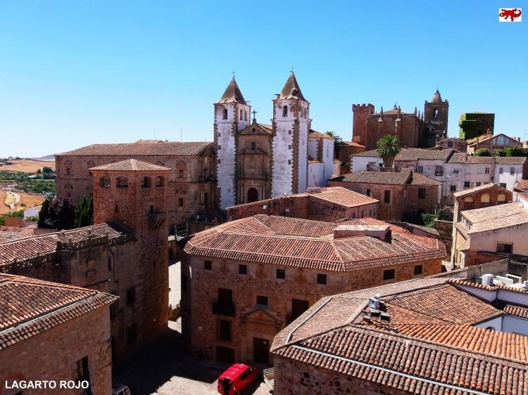 Vistas panorámicas de Cáceres