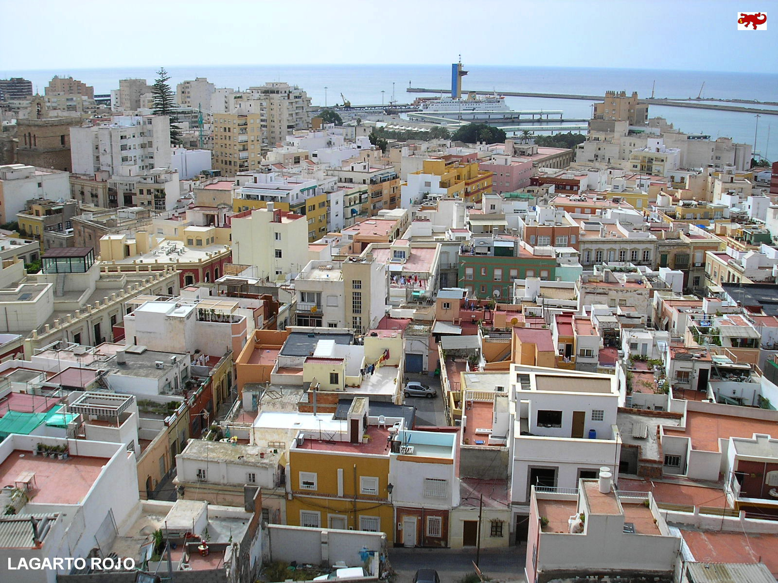 Vistas panorámicas de Almería