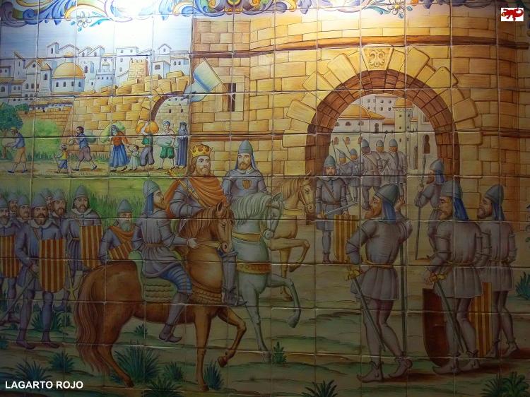 Entrada de Jaime I en Valencia
