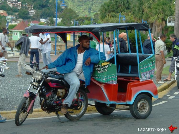 Mototaxi en Samaná