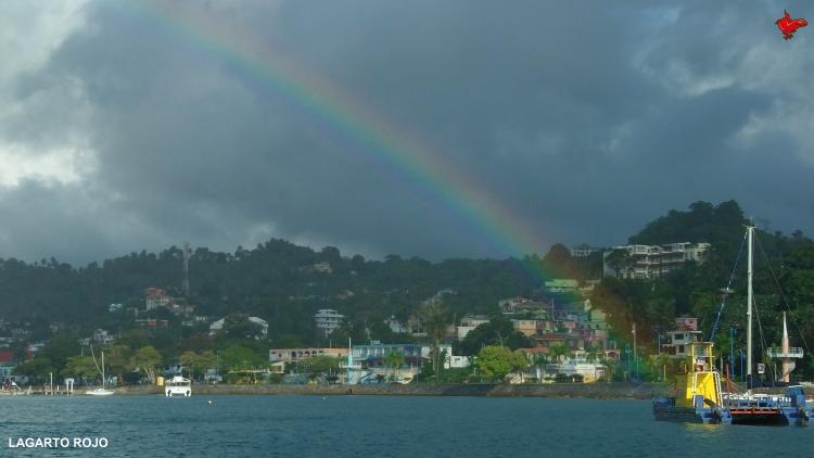 Arco iris en Santa Bárbara