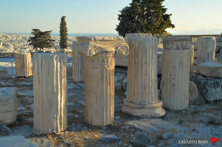 Columnas jónicas