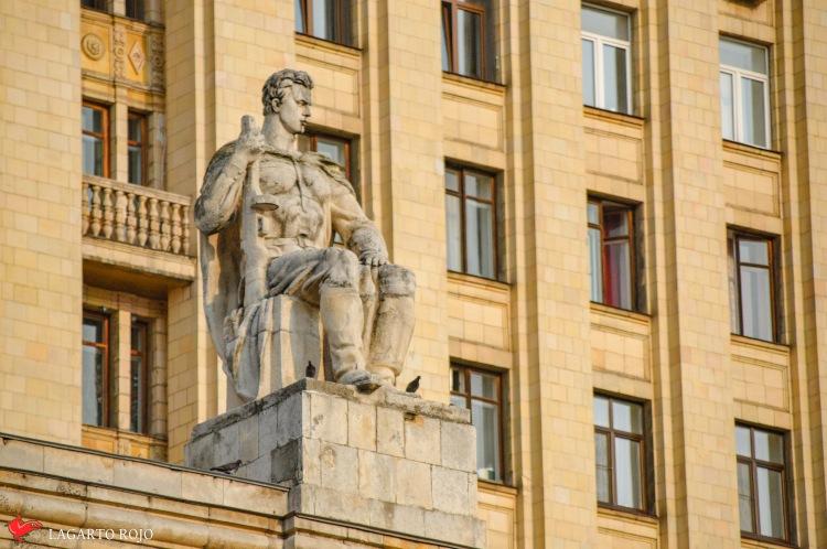 Escultura soviética
