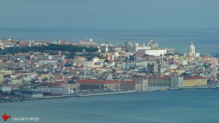 Vistas de Lisboa y el Tajo