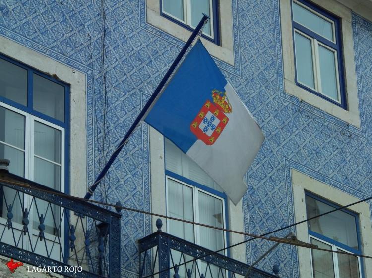 Bandera tradicional portuguesa
