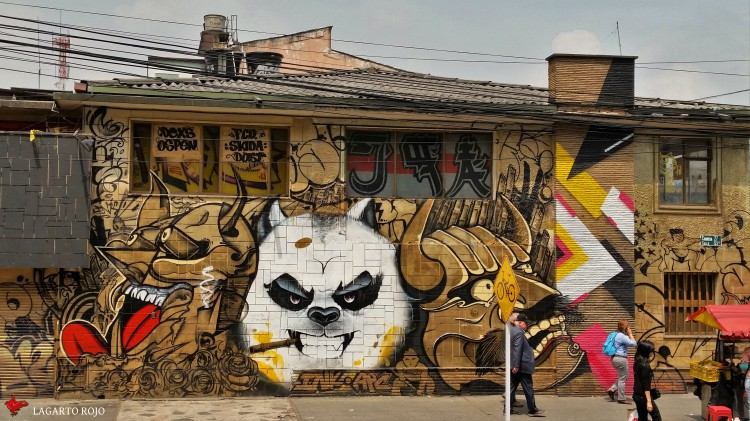 Mural en Galerías