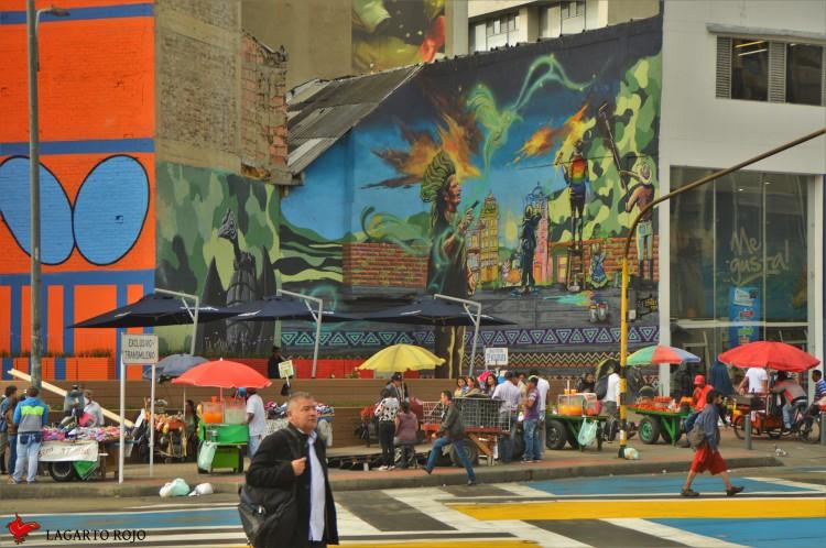 Mural en Bogotá