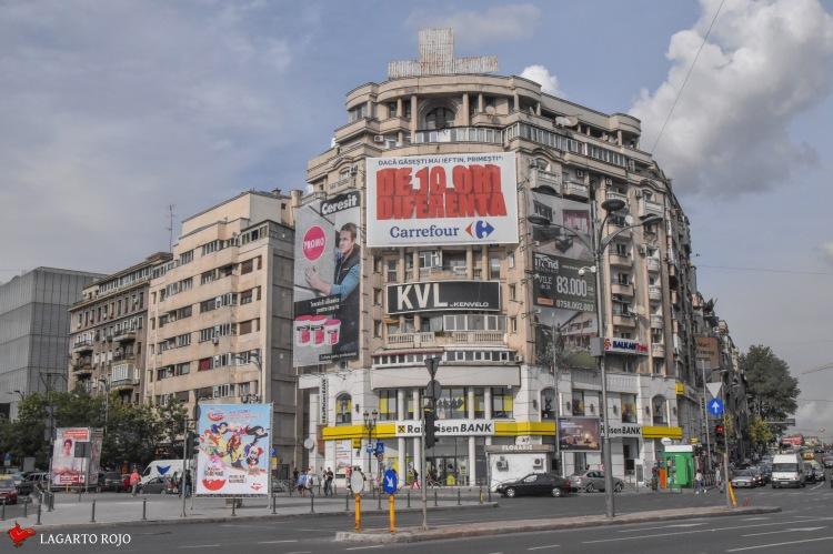 Centro histórico de Bucarest